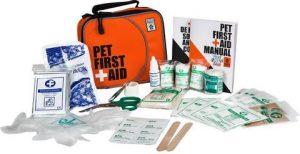 Pet first aid kit parasites